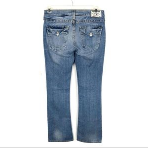 True Religion | Becky Bootcut Flap Pocket Jeans